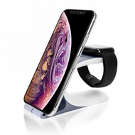 2 in 1 Fast Wireless Charger Dock Cell Phone Charge Stand Fast Charging For iPhone 11 11 Pro XR XS Max 8 for Apple Watch 2 3 4 5