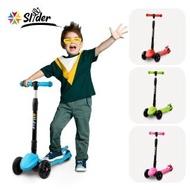 【Slider】兒童三輪折疊滑板車XL1(淺藍)