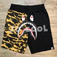 BAPE SHARK 半面鯊魚迷彩短褲