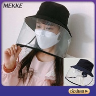 Mekke Anti-droplets Adult Full Face prevent Virus Protective Cap Anti-Face for Blocking Droplets Bucket Hats Eye Protection Sun Protection Anti-UV Hat
