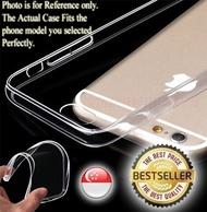Transparent Gel Case Casing Cover/Tempered Glass for Samsung Galaxy J7 Plus J7310 J7+ / C8 C7100