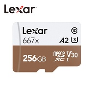 Lexar® 256GB Professional 667x microSDXC™ UHS-I U3 (A2) (V30) 記憶卡