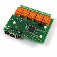 Denkovi Web控制 I/O ADC 5繼電器輸出板:IP,MAC,PING,Java,LABVIEW,實時時鐘,24VDC [2美國直購]