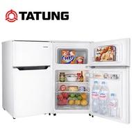 TATUNG大同 92公升雙門一級能效小冰箱-(TR-B92HM) 送安裝
