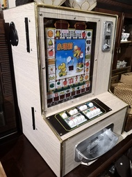 台灣懷舊柑仔店系列 - 復刻版木質外殼小瑪莉存錢筒