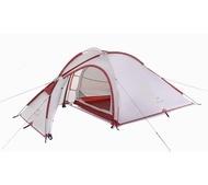 愛上戶外☛ 【升級版】【附地布】NH Naturehike 海比2-3人 帳篷 一房一廳 登山露營