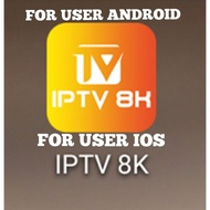 IPTV6K8K IPTV MALAYSIA 1000+++CHANNEL 💯 FOR ANDROID & IOS 1MONTH 3MONTH 6MONTH 1 YEARS