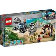 Lego 75934 Escape Double Back Dragon Double Crown Jurassic Period World Park Dinosaur