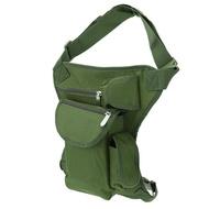 กระเป๋าผ้าใบระดับเอวขาเก็บของขนาดกระทัดรัด,กระเป๋าคาดเอวสำหรับปีนเขากิจกรรมกลางแจ้งกระเป๋าทหารใช้งานได้หลากหลายโอกาสสำหรับการเดินทางปีนเขาวิ่ง