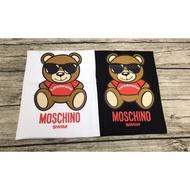 Moschino 紅衣墨鏡熊 女款