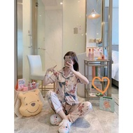 2021 NEW pajama Sleepwear sleepwear terno pajama sleepwear pajama set for womens/ girl/ cotton