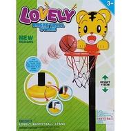 兒童籃球框-巧虎籃球框-可調高度