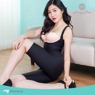 【Marena 瑪芮娜】強效完美塑形系列 護腰美背膝上式排扣型塑身衣