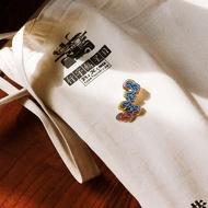 【PZ Cartoon brooch】Oriental Courtesy Chinese Wind Brooch Women's Cartoon Acce