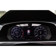 VW_tiguan 犀牛皮_液晶儀表板幕保護貼 TPU_2016~2020年