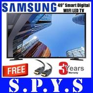 "Samsung UA49J5250 Digital Smart LED TV. Free HDMI Cable x 01. Samsung 49"" LED TV. FULL HD. 3 Years Warranty."