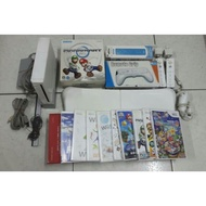 wii主機 踏板 遊戲片 道具 全套組(不拆賣)馬利歐 超級馬利歐 主機 遙控器 踏板 手搖桿 遙控器