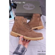 Timberland Comfortable Men's sports Outdoor casual Leather Boots Lelaki Kasut