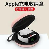 耳機架 蘋果airpods2無線充電盒底座Apple watch手錶收納盒子藍牙耳機支架airpods pro充電盒套支架二合一矽膠保護套