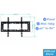"""Full set with screw universal Fixed 40"""" 63"""" 65"""" 80"""" Wall Mount tv bracket holder 70 inch"""