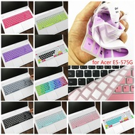 15.6 Inch Silicone Keyboard Cover Protector for Acer E5-575G-51SF A615 TMP2510 TX520 E5-576G