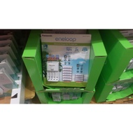 可刷卡好市多代購 eneloop 176230電池+充電器套組.三號充電電池/四號充電電池 10入 3號/4號充電電池
