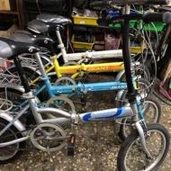 捷安特 Giant fd610 16吋 二手腳踏車 二手折疊車 二手小折