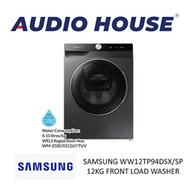 SAMSUNG WW12TP94DSX/SP 12KG FRONT LOAD WASHER ***2 YEARS WARRANTY BY SAMSUNG***