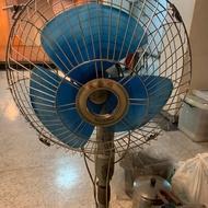古物 順風牌14吋電風扇立扇