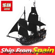 Lepin pirates of the caribbean Lepin 16006 16009 Building Blocks toys Bricks Compatible Legoing 4195