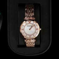 EMPORIO ARMANI / AR1682 นาฬิกาแฟชั่น Avene กลไก / 32mm / Yamani นาฬิกากลไกของแท้