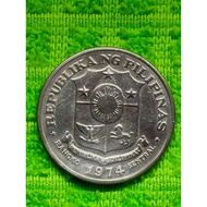 ┇1 Peso 1972-1974 Philippine Uncirculated Coin