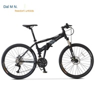 Ready Stock Dahon 27 Speed Folding Mountain Bike Adult Student Men s and Women's Bicycle Hardtail