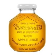 Costco Martinelli's 蘋果汁 玻璃瓶 空瓶 薰香瓶 花瓶  玻璃杯
