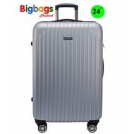 ร้านแนะนำPolo กระเป๋าเดินทาง 24 นิ้ว 8 ล้อ 360° รุ่น ABS7707 (Grey) ล้อลาก