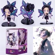 ดาบพิฆาตอสูร ของเล่นตุ๊กตาฟิกเกอร์ demon slayer kimetsu no yaiba shinobu 8 ซม.