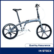 【Hot style】 bike-Hito x4 brand 20/22 inch foldable bicycle ultra-light portable aluminum alloy variable speed male and f