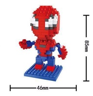 HSANHE No.8114 Spider Man Marvel Super Hero LEGO เลโก้ นาโน (Size M)