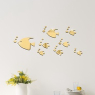 3d Wall Stickers Bathroom Acrylic Mirror Tile Stickers