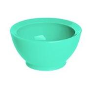 美國 Calibowl 專利防漏防滑幼兒學習碗(單入無蓋) 8oz-藍綠色【紫貝殼】