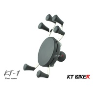 【KT BIKER】 KT-1 手機架 六爪架 (單售) 六點式 摩托 機車 支架 〔KTP103〕