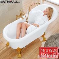 浴缸亞克力貴妃浴缸浴盆獨立式小浴池1.21.31.41.51.61.7米