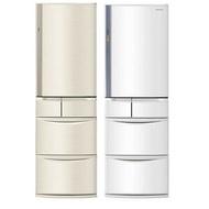 Panasonic 國際牌 411公升五門變頻電冰箱日本製(NR-E414VT-N1/NR-E414VT-W1)(不參加原廠贈品活動)香檳金N1