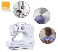 [พร้อมส่ง]จักรเย็บผ้า จักรเย็บผ้าขนาดเล็ก จักรเย็บผ้าไฟฟ้า เครื่องจักรเย็บผ้า จักรเย็บผ้าไฟฟ้าไร้สาย ปรับระดับความเร็วได้ Sewing Machine ICONSTORE