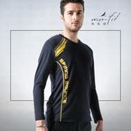 SANTO win-fit 微氣候運動暖衫(長袖)-黑色