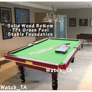 7ft Pool Table Creative Family Eight Ball Table Pool plank outdoor tip cue sports meja snooker tent 8ft American Snooker