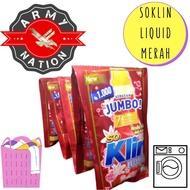 So Klin detergen cair liquid parfume Collection RENCENG isi 6 Sachet / SOKLIN /So Klin Liquid sachet