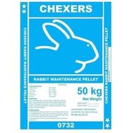 25KG CHEXERS Rabbit Maintenance Pellet Premium
