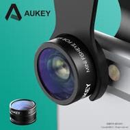 【AUKEY】 PL-A2 20倍微距/魚眼 手機鏡頭