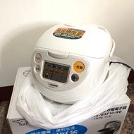 象印ZOJIRUSHI 六人份微電腦炊飯電子鍋  黑金剛厚釜
